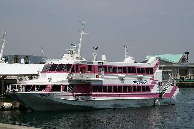 鹿児島港のトッピー
